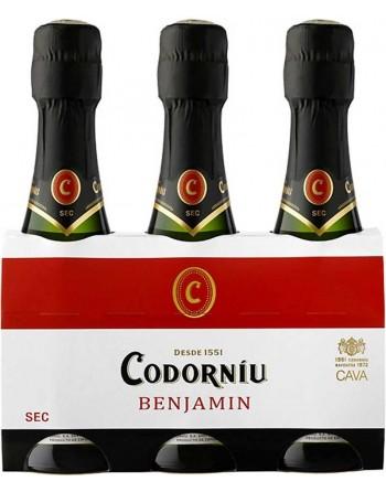 Benjamín Codorníu pack de 3 botellas 20cl.