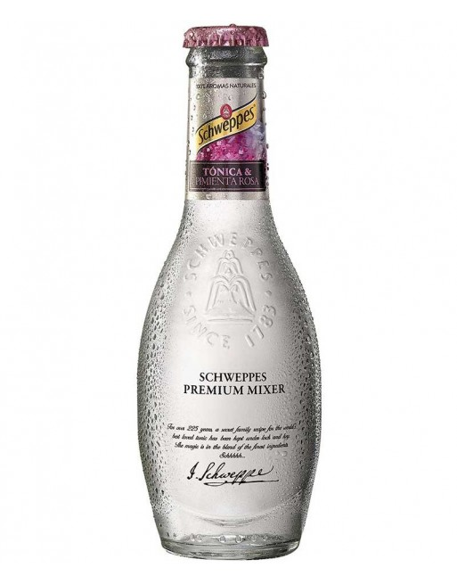 Schweppes Pimienta Rosa Pack 24 Botellas 20cl.