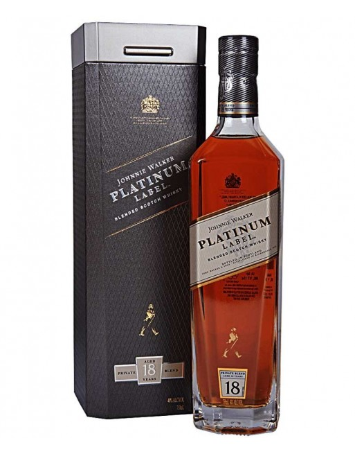 Whisky Johnnie Walker Platinum Label 70cl.