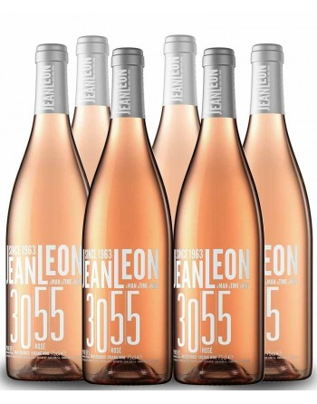 Pack 6 botellas Jean Leon 3055 Rosé 2017
