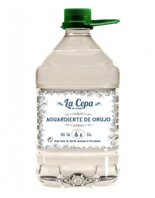 Aguardiente de orujo La Cepa de Cristal 3lt.