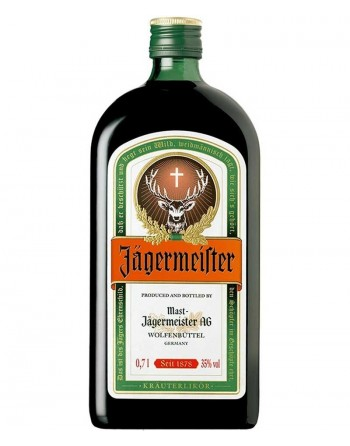 Licor de Hierbas Jägermeister 70cl.