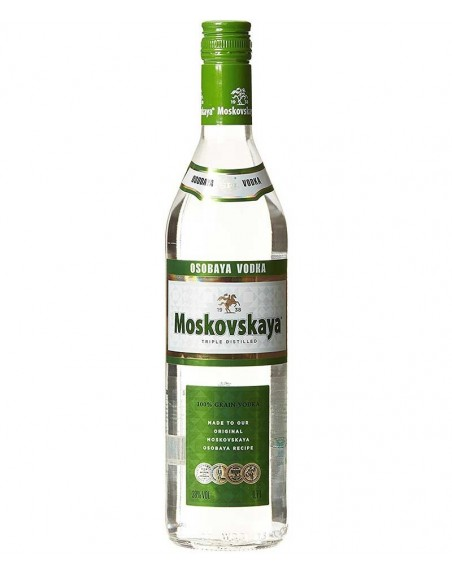 Vodka Moskovskaya 70cl.