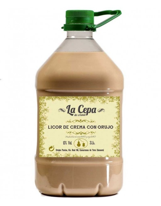 Crema de Orujo La Cepa de Cristal 3L