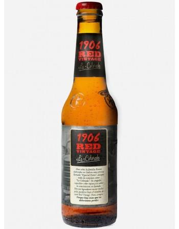 Cerveza Estrella Galicia 1906 Red Vintage Pack 24 Unidades 33cl.