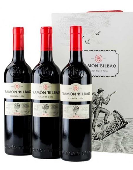 Pack 3 botellas Ramón Bilbao Crianza