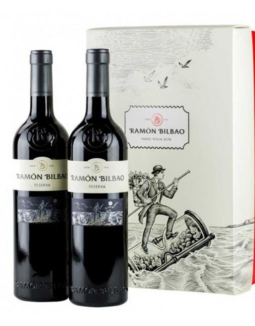 Pack 2 botellas Ramón Bilbao Reserva