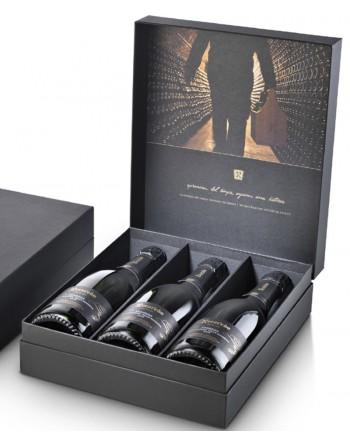 Pack 3 botellas Recaredo Terrers Brut Nature Gran Reserva Elegant