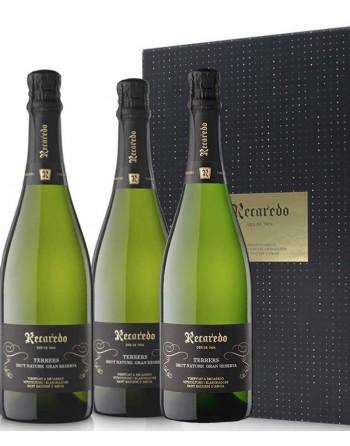 3 bottles Recaredo Terrers Brut Nature Gran Reserva in Box