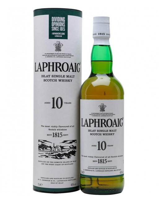 Whisky Laphroaig Reserva 10 años 70cl.