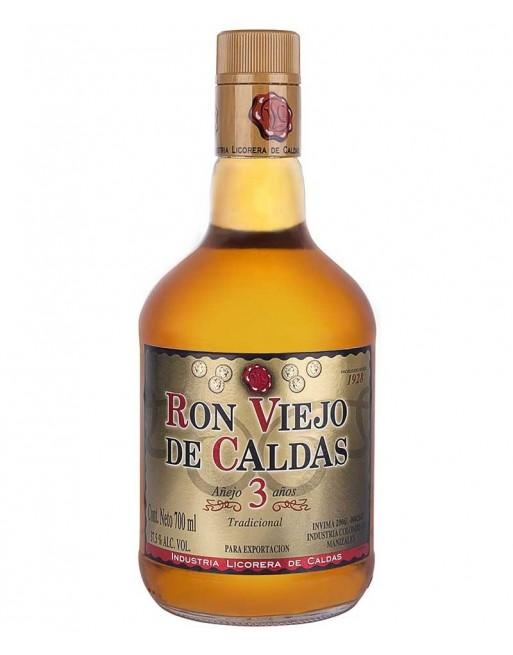 Ron Viejo de Caldas 3 años 70cl.