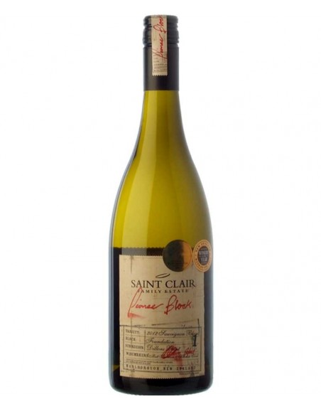 Saint Clair Pioneer Block 1 Sauvignon Blanc 2015