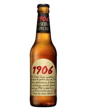 Cerveza Estrella Galicia 1906 Pack 24 Unidades 33cl.