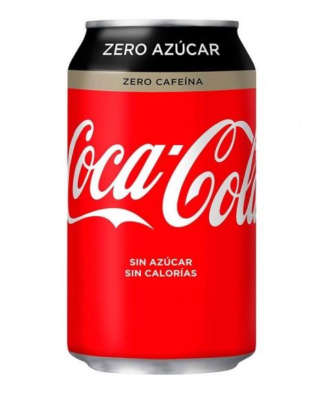 Coca Cola Zero Zero Pack 24 unidades 33cl.