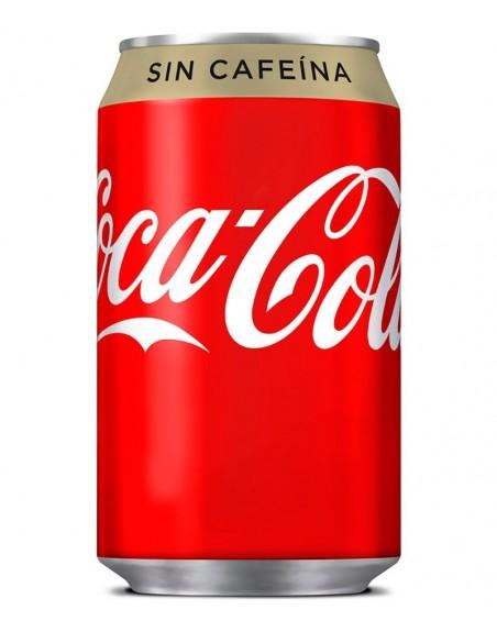 Coca Cola Sin Cafeína Pack 24 unidades 33cl.
