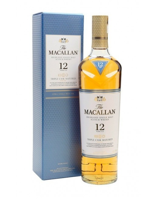 The Macallan 12 Años Triple Cask