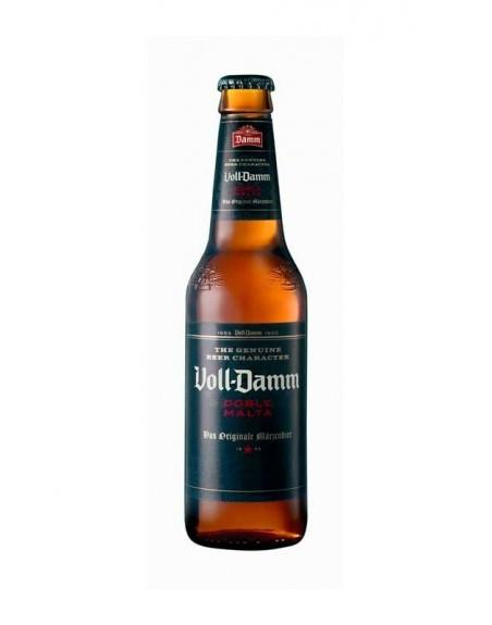 Cerveza Voll Damm Estrellas Pack 24 Botellines 33cl.