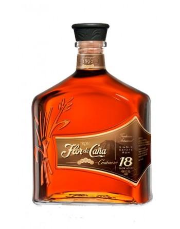 Flor de Caña 18 years old rum