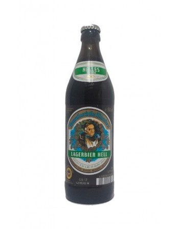 Cerveza Lagerbier Hell Botella 50cl.