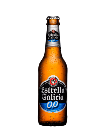 Cerveza Estrella Galicia...