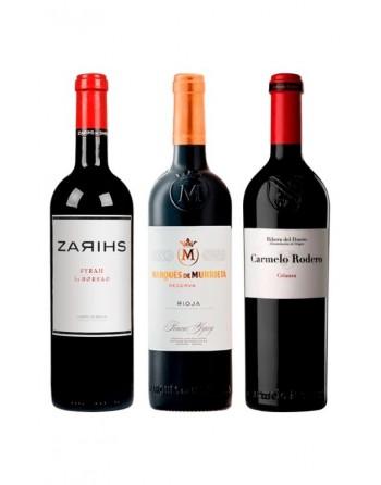 Pack Selección Vinos Tintos