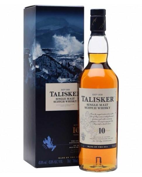 Whisky Talisker 10 años (70cl.)